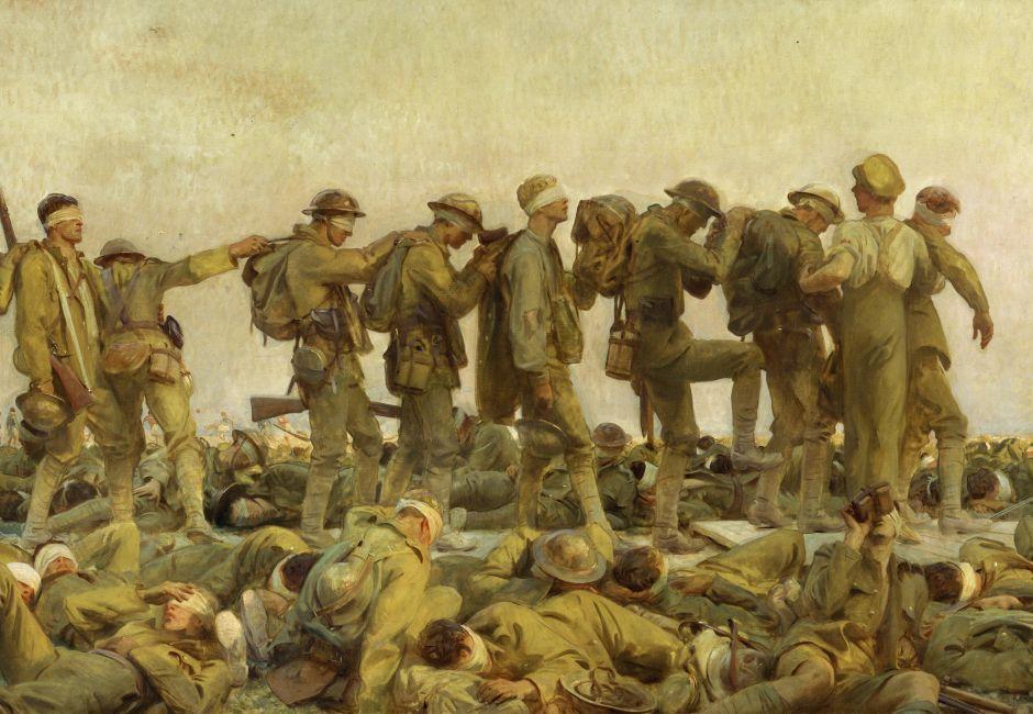 Gassed (1919) by John Singer Sargent