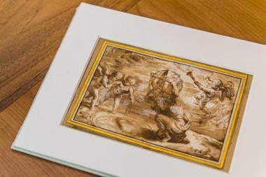 Original drawing of Peter Paul Rubens